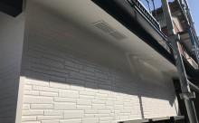 愛知県西三河東三河西尾市碧南市外壁塗装超低汚染遮熱シリコン色褪せ汚れ傷み割れクラック外壁補修外壁塗装工事アステックリファイン1000Si-IRクールホワイト完成