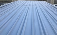 愛知県西三河東三河西尾市倉庫塗装外壁高反射遮熱シリコンサーモアイSi屋根ガイナ遮断熱セラミック色褪せ汚れ錆サビ雨垂れ剥がれ屋根完成