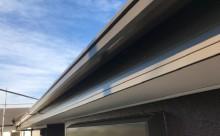 愛知県岡崎市西尾市外壁塗装超低汚染遮熱シリコン塗装屋根塗装超低汚染遮熱フッ素塗装色褪せシール割れクラック欠け苔汚れ施工後軒樋