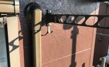愛知県岡崎市西尾市外壁塗装超低汚染遮熱シリコン塗装屋根塗装超低汚染遮熱フッ素塗装色褪せシール割れクラック欠け苔汚れ施工後軒樋細部物干し