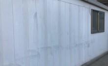愛知県西三河東三河西尾市倉庫塗装外壁高反射遮熱シリコンサーモアイSi屋根ガイナ遮断熱セラミック色褪せ汚れ錆サビ雨垂れ剥がれ外壁現状