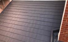愛知県西三河東三河西尾市店舗外壁塗装屋根塗装外壁耐候性シリコン塗装屋根超低汚染遮熱シリコン塗装ニュートラルホワイト傷み汚れ割れクラック色褪せ欠け施工後屋根