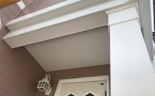 西三河西尾市外壁塗装超低汚染遮熱シリコン塗装モカ屋根塗装高反射遮熱塗装アドグリーンコートクールブラウン施工後軒天