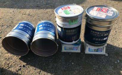 西三河西尾市外壁塗装超低汚染遮熱シリコン塗装モカ外壁上塗り塗料使用後モカ