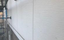愛知県西三河西尾市外壁塗装超低汚染遮熱シリコン塗装モカ現状