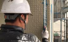 愛知県西三河東三河西尾市外壁塗装超低汚染遮熱シリコン塗装スレートグレー施工写真シーリング