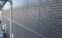 愛知県西三河東三河西尾市外壁塗装超低汚染遮熱シリコン塗装スレートグレー施工写真完成
