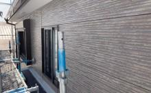 愛知県西三河西尾市外壁無機UVクリヤー塗装施工写真完成