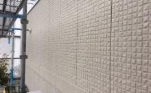 愛知県西三河東三河西尾市外壁塗装超低汚染遮熱シリコン塗装スレートグレー施工写真現状