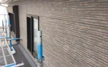 愛知県西三河西尾市外壁無機UVクリヤー塗装施工写真現状