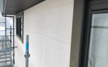 愛知県西三河東三河額田郡幸田町外壁塗装アステック超低汚染無機フッ素カラーボンドベイジュ施工写真現状