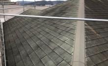 愛知県西三河東三河額田郡幸田町屋根塗装アステックスーパーシャネツサーモFトゥルーブラック施工写真現状