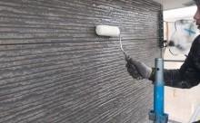 愛知県西三河西尾市外壁無機UVクリヤー塗装施工写真クリヤー