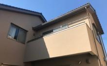 愛知県西三河東三河安城市外壁塗装ガイナ遮熱断熱施工写真外観