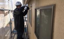愛知県西三河東三河安城市外壁塗装ガイナ遮熱断熱施工写真高圧洗浄