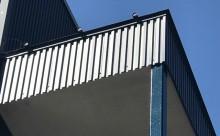 愛知県西三河東三河西尾市屋上防水工事鉄骨階段塗装工事マックスシールド汚れクラックひび割れメンテナンス施工写真ガルバリウム鋼板