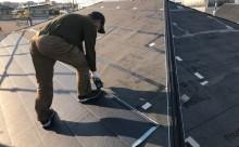 愛知県西三河西尾市外壁無機UVクリヤー塗装葺き替え工事本体張りつけ
