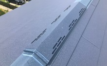 愛知県西三河西尾市外壁無機UVクリヤー塗装葺き替え工事換気口
