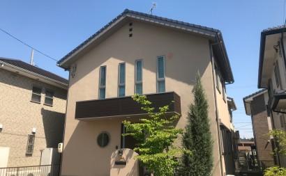 愛知県西三河東三河安城市外壁塗装ガイナ遮熱断熱施工後