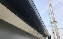 愛知県西三河西尾市外壁塗装超低汚染遮熱シリコン塗装施工後軒樋