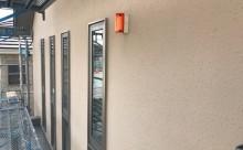 愛知県西三河東三河安城市外壁塗装ガイナ遮熱断熱施工写真外壁