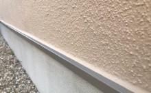 愛知県西三河東三河安城市外壁塗装ガイナ遮熱断熱施工写真水切板金