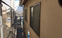 愛知県西三河東三河安城市外壁塗装ガイナ遮熱断熱施工写真現状