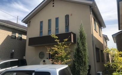 愛知県西三河東三河安城市外壁塗装ガイナ遮熱断熱施工前