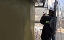 愛知県西三河東三河西尾市外壁塗装アステック超低汚染リファインSiシリコン塗装モカ色褪せ汚れ高圧洗浄