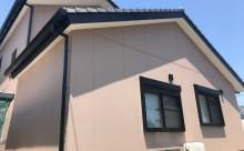 愛知県西三河東三河西尾市外壁塗装アステック超低汚染リファインSiシリコン塗装モカ完成