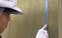 愛知県西三河東三河西尾市外壁塗装アステック超低汚染リファインSiシリコン塗装モカ色褪せ汚れシーリング