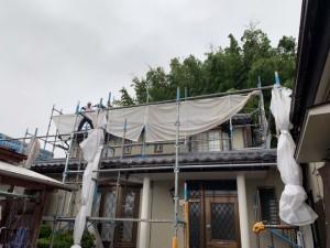 西尾市エディオン案件外壁塗装