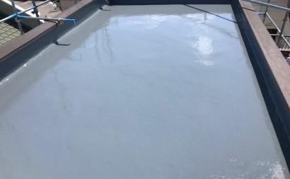 愛知県西三河東三河碧南市外壁塗装工事ウレタン防水工事通気緩衝工法雨漏り完成