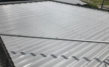 愛知県西三河東三河西尾市屋根塗装シリコン塗装汚れ錆色褪せ施工写真完成