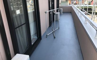 愛知県西三河東三河西尾市外壁塗装アステック超低汚染リファインSiシリコン塗装モカベランダ防水FRPトップ保護塗装仕上げ完成