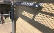 愛知県西三河東三河碧南市外壁塗装アステックシリコン塗装ベージュ剥がれ色褪せ錆ベランダ防水工事通気緩衝工法施工写真配管