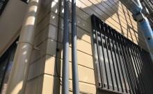 愛知県西三河東三河碧南市外壁塗装アステックシリコン塗装ベージュ剥がれ色褪せ錆ベランダ防水工事通気緩衝工法施工写真外壁
