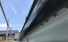 愛知県西三河東三河西尾市屋根塗装シリコン塗装汚れ錆色褪せ施工写真軒樋