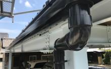 愛知県西三河東三河西尾市屋根塗装シリコン塗装汚れ錆色褪せ施工写真竪樋