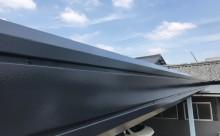 愛知県西三河東三河西尾市屋根塗装シリコン塗装汚れ錆色褪せ施工写真パラペット