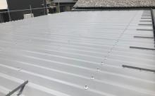 愛知県西三河東三河西尾市屋根塗装シリコン塗装汚れ錆色褪せ施工写真屋根