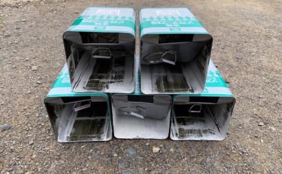 愛知県西三河東三河安城市外壁塗装ガイナ遮熱断熱施外壁下塗り使用缶数5缶
