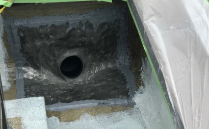 愛知県西三河東三河碧南市外壁塗装工事ウレタン防水工事通気緩衝工法雨漏り改修ドレン