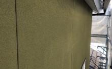 愛知県西三河東三河西尾市外壁塗装アステック超低汚染リファインSiシリコン塗装モカ色褪せ汚れ現状