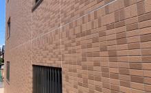 愛知県西三河東三河西尾市マンション塗替えタイル壁クリヤー塗装施工写真完成