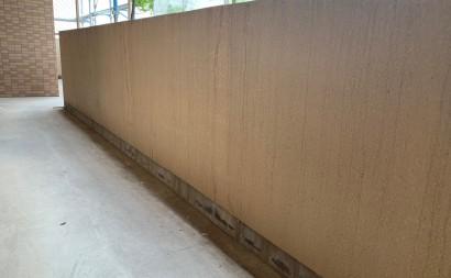 愛知県西三河東三河西尾市マンション塗替え外壁超低汚染遮熱シリコン塗装ミッドビスケット施工写真現状