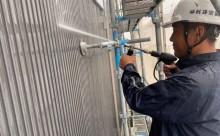 愛知県西三河東三河碧南市外壁塗装工事屋上塩ビシート防水工事アステックマックスシールドフッ素塗装外壁ガルバリウム鋼板塗装高圧洗浄