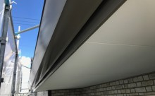 愛知県西三河東三河西尾市付帯部塗装工事シーリング工事汚れシーリング割れ色褪せ施工後軒樋鼻隠し
