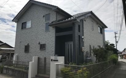 愛知県西三河東三河西尾市付帯部塗装工事シーリング工事汚れシーリング割れ色褪せ施工後