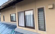 愛知県西三河東三河西尾市外壁塗装工事遮熱断熱セラミックガイナ塗装破風部切妻部塗装外壁シーリング
